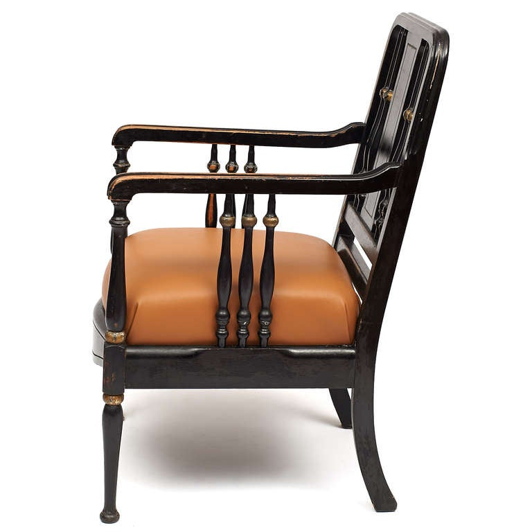 Edwardian style bankers chair at 1stdibs