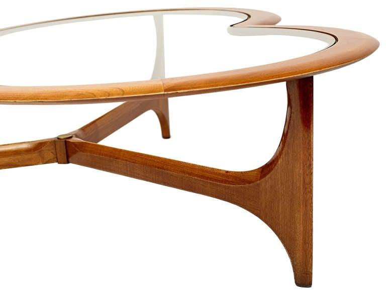 Lane Clover Leaf Coffee Table At 1stdibs