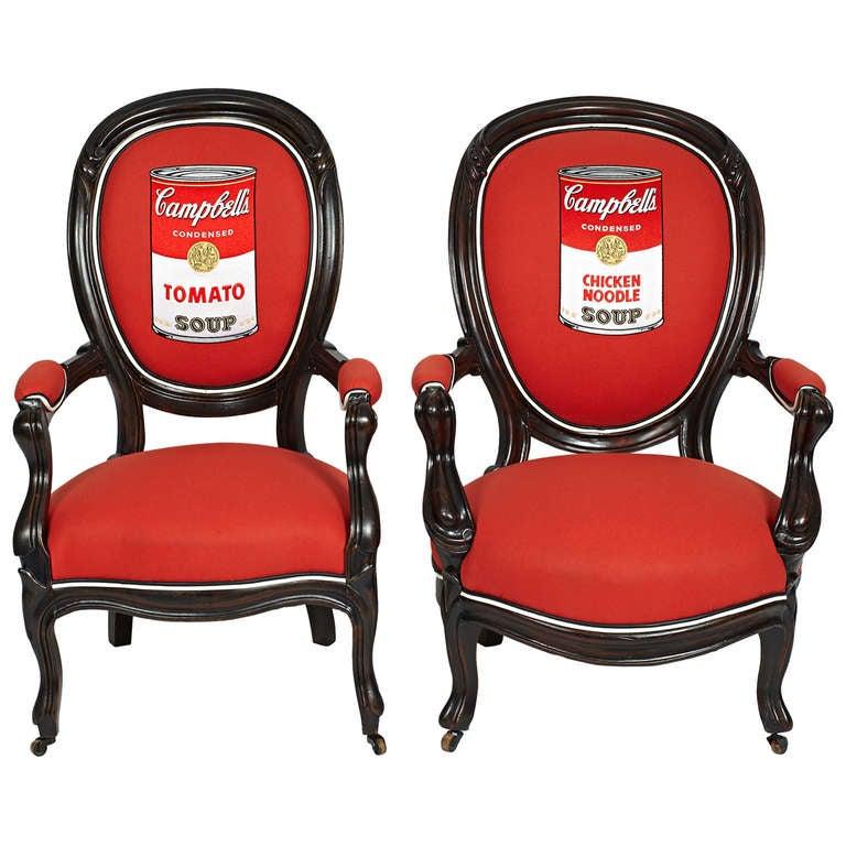 victorian mahogany campbell s parlor chairs at 1stdibs