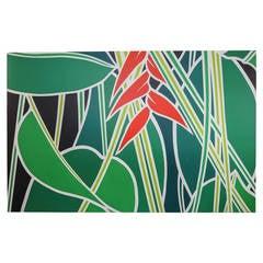 """Banana Plant"" by Ann Bruce Stoddard, American, 20th Century"