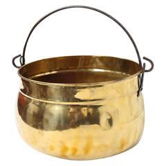 Polished Brass Kettle