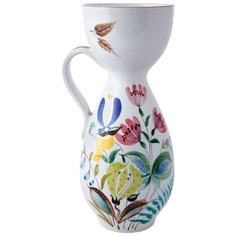 Stig Lindberg Vase in Fajance