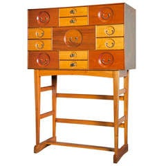 Josef Frank Cabinet with 13 drawers