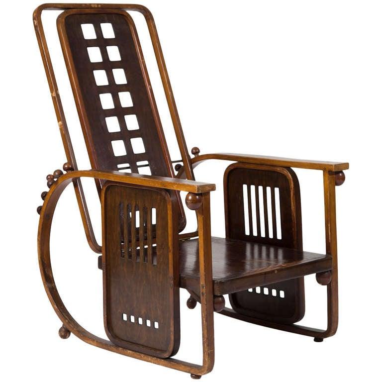 sitzmaschine von josef hoffmann 1908 for sale at 1stdibs. Black Bedroom Furniture Sets. Home Design Ideas