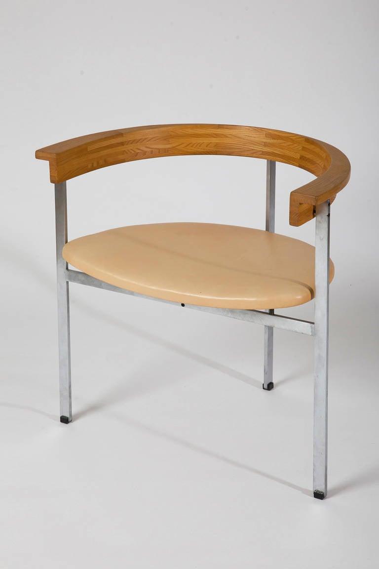 Amazing Poul Kjaerholm PK 11 Chair, Denmark, 1957 2