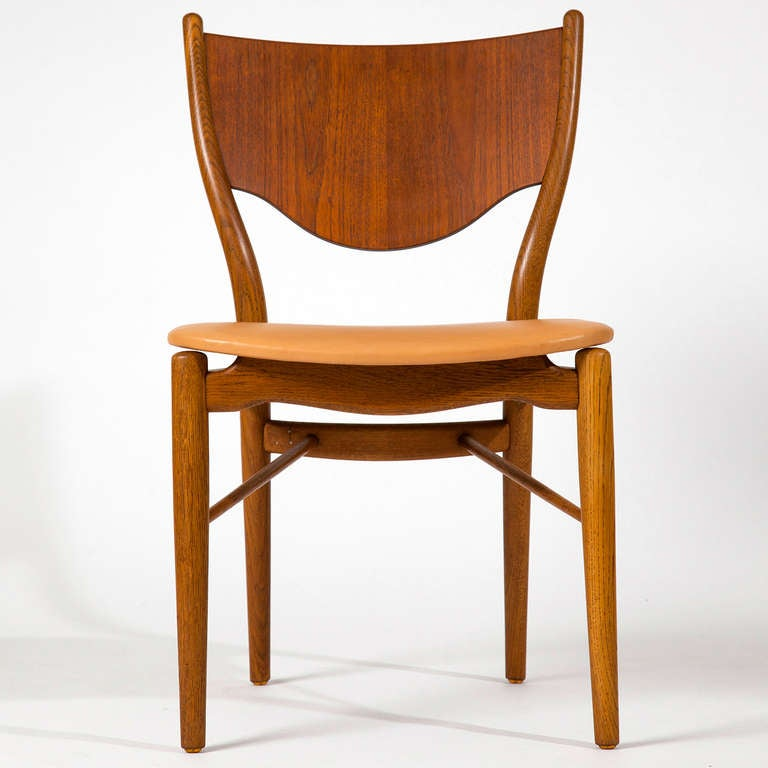 Finn Juhl, pair of chairs BO-46 3