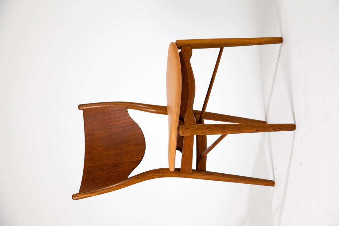 Finn Juhl, pair of chairs BO-46 4
