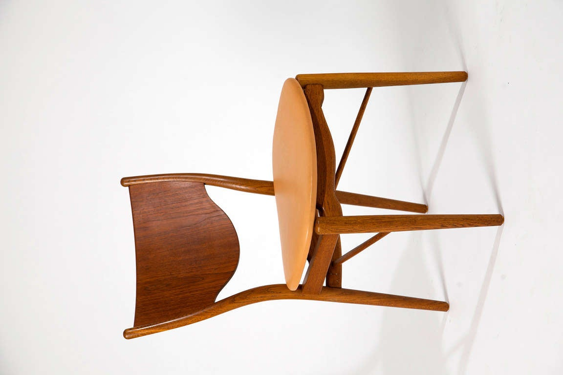 Finn Juhl, pair of chairs BO-46 5