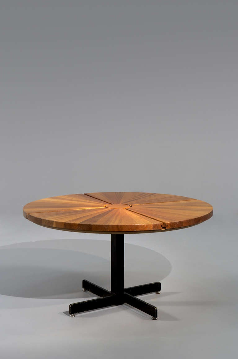 charlotte perriand table ca 1970 at 1stdibs. Black Bedroom Furniture Sets. Home Design Ideas