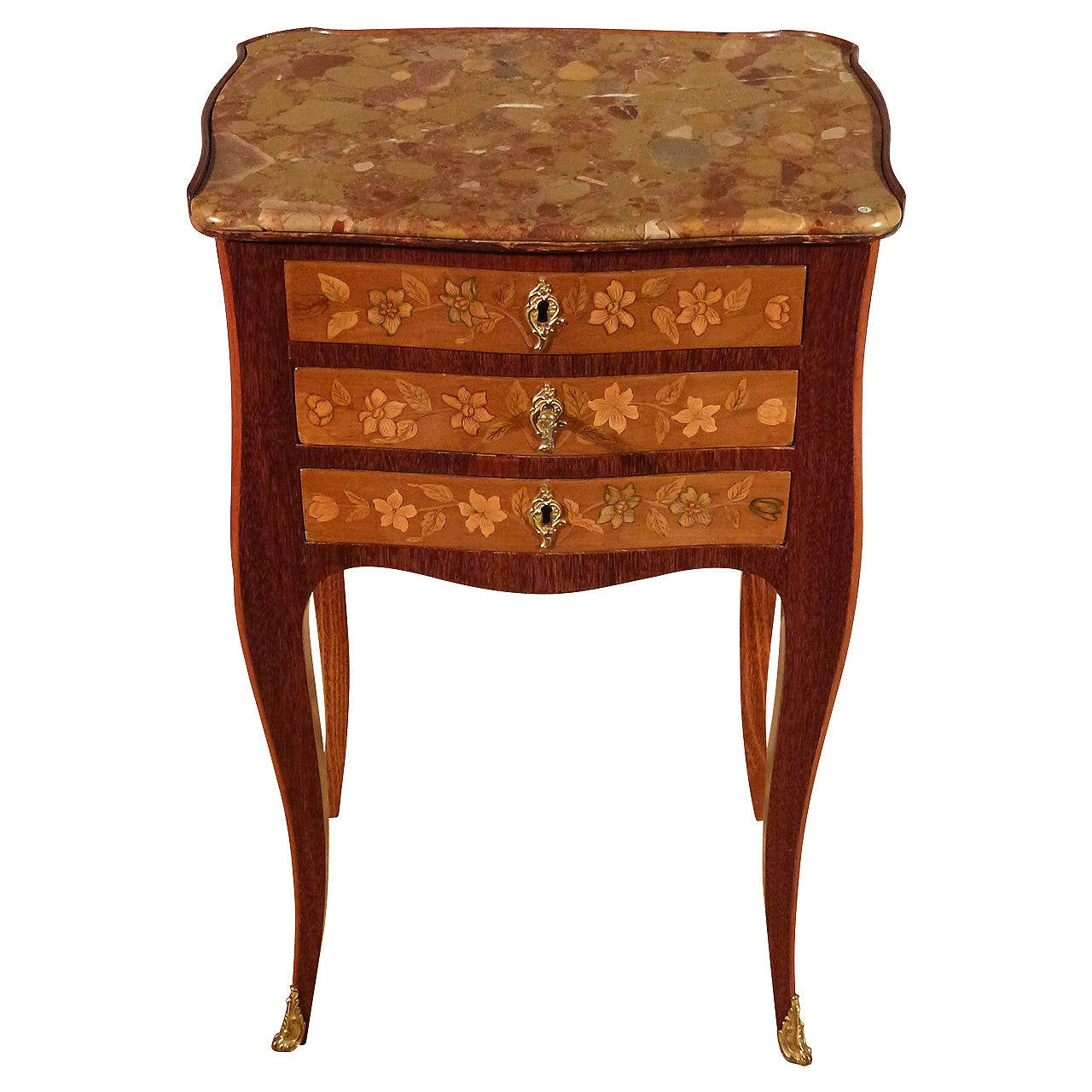 french louis xv table en chiffoni re for sale at 1stdibs. Black Bedroom Furniture Sets. Home Design Ideas