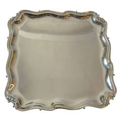Dutch Silver Louis XV Salver