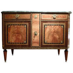 Fine Dutch Louis XVI Commode