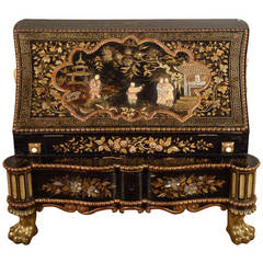 Dutch Lacquer Table Secretary