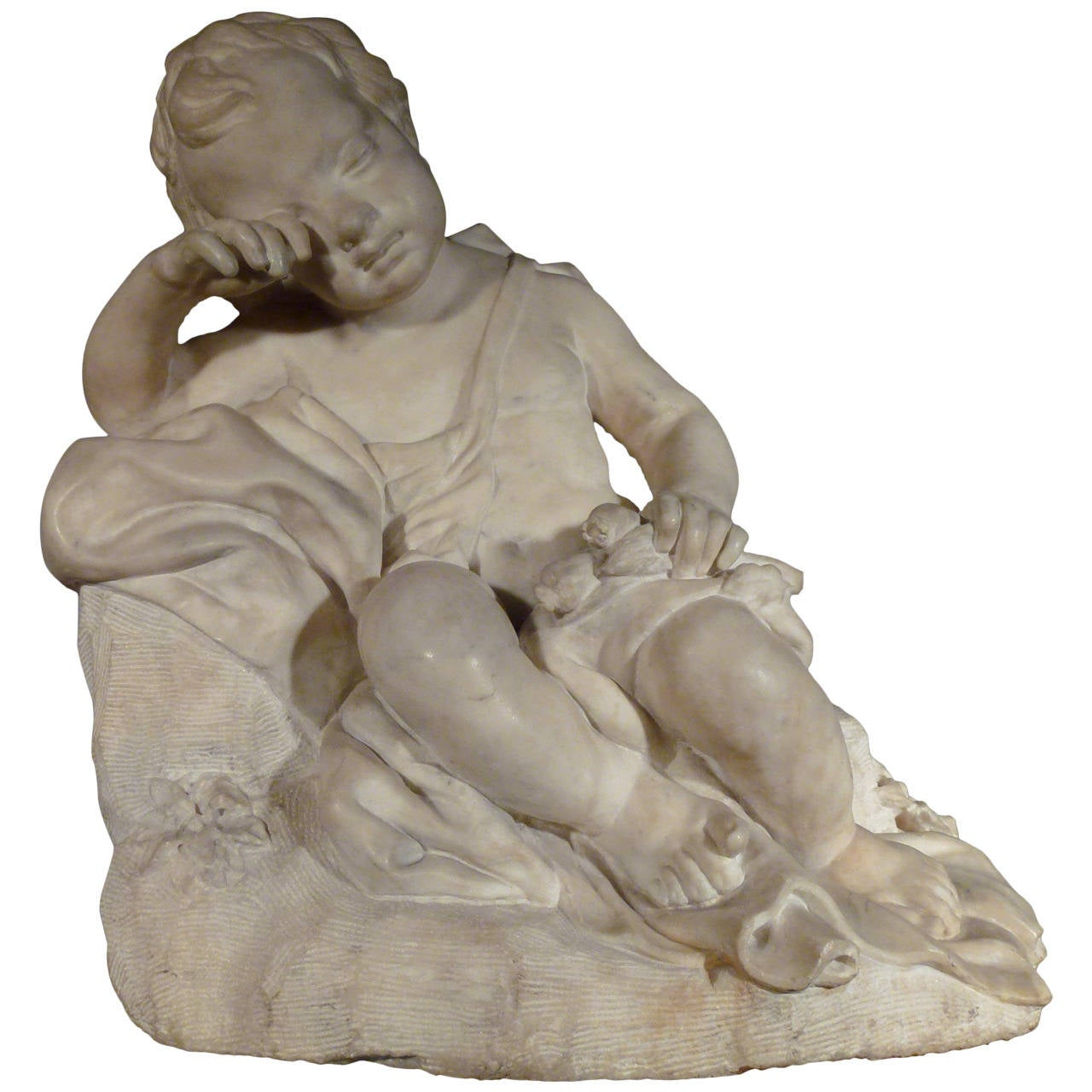 Figure of a Putto, Seated