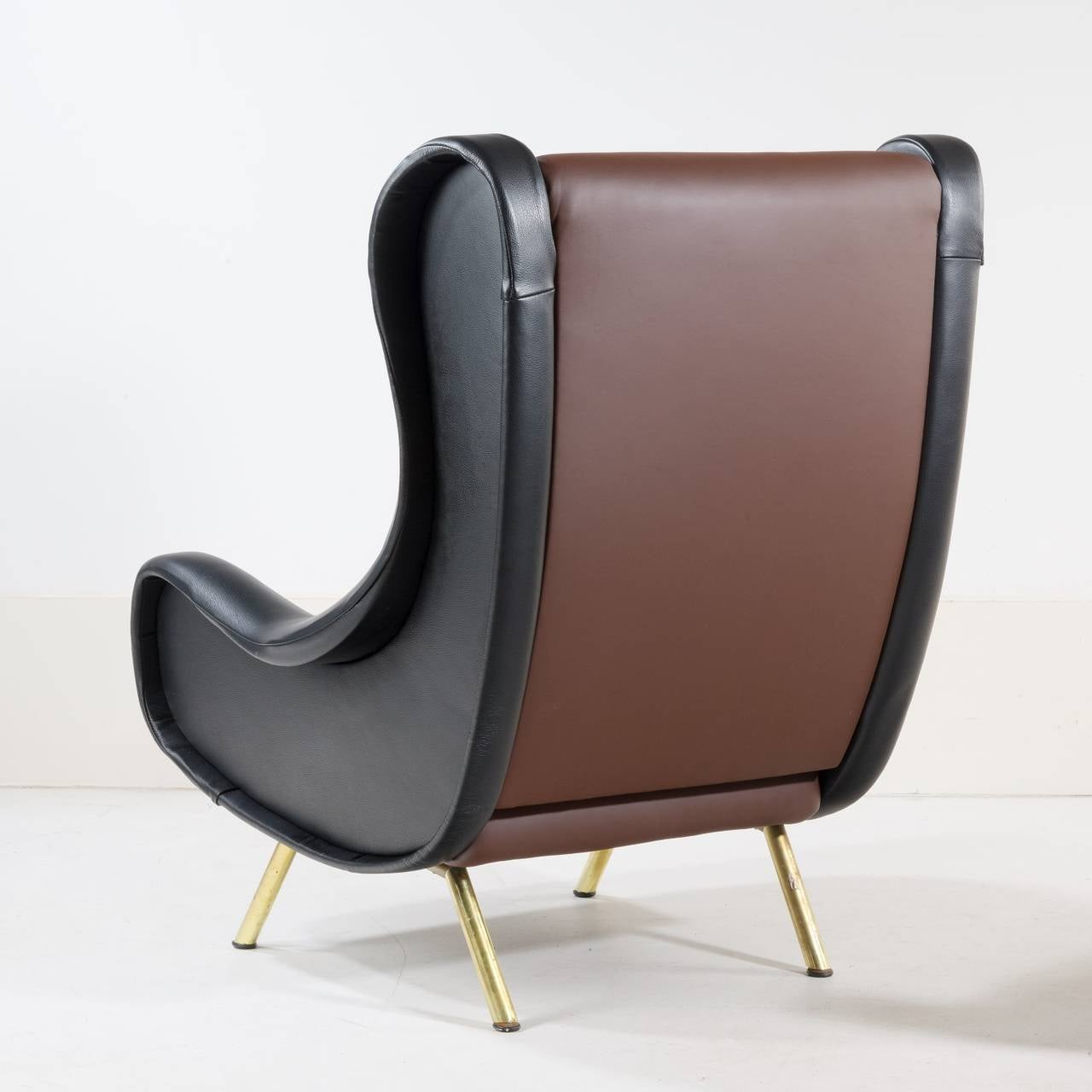 Pair of Armchairs, Model 'Senior' by Marco Zanuso 3