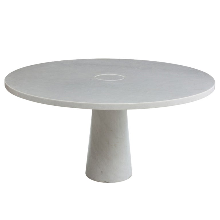 Marble dining table by angelo mangiarotti at 1stdibs - Marble dining table prices ...
