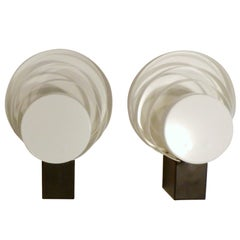 Pair of Lacquered Metal Wall Lights by RAAK