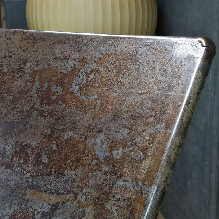 1930 S Industrial Drafting Table German Factory Cast Iron