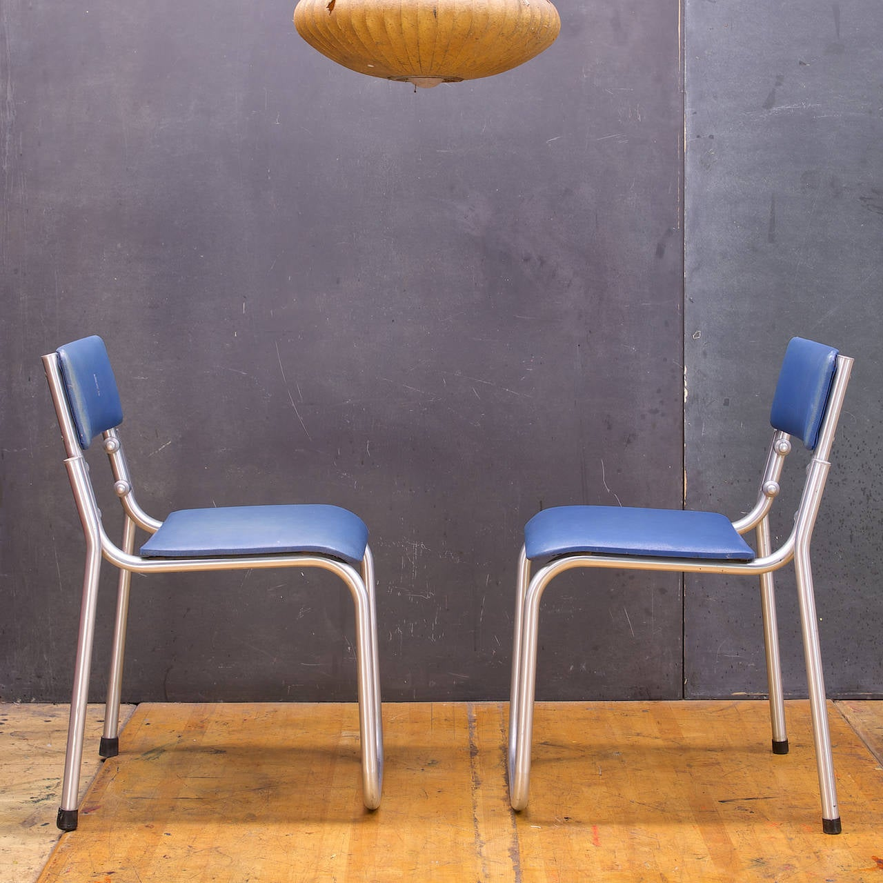warren mcarthur duralium stacking chairs pair is no longer available