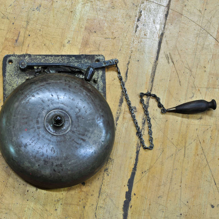 1920 S Vintage Brass Boxing Ring Bell At 1stdibs