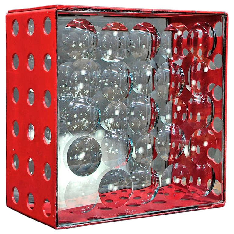Feliciano Bejar Caja De Jano Bubble Box Magicsope Refraction Sculpture Op Art For Sale