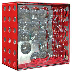 Bejar Bubble Box Magicsope Refraction Sculpture Vintage Post Modern Op Art