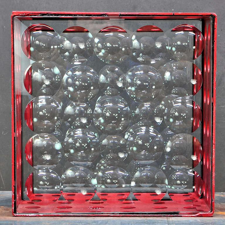 Feliciano Bejar Caja De Jano Bubble Box Magicsope Refraction Sculpture Op Art In Good Condition For Sale In Washington, DC