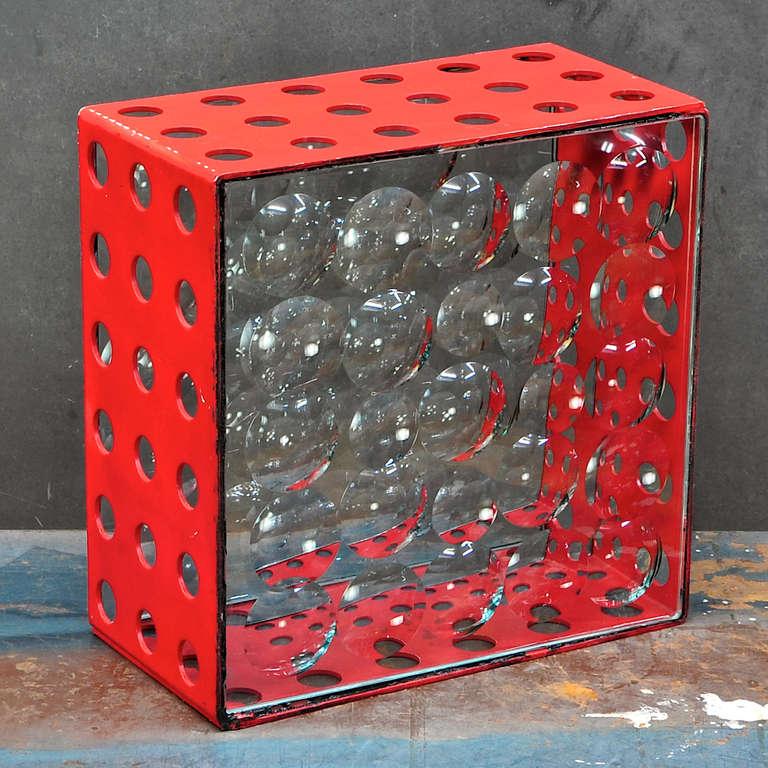 Mexican Feliciano Bejar Caja De Jano Bubble Box Magicsope Refraction Sculpture Op Art For Sale