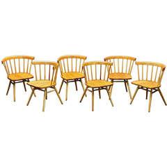 George Nakashima Knoll N19 Straight Chairs