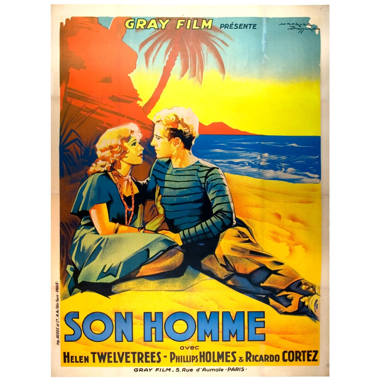 Original French Film Poster
