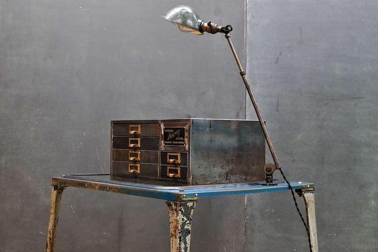 Vintage Industrial Machinists Atelier Petite Tabletop