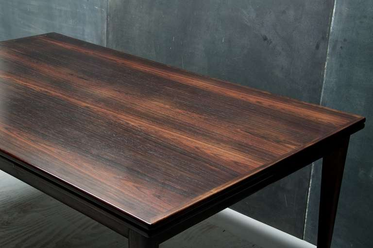 Niels O Moller 1960 S Rosewood Model 12 Dining Table And