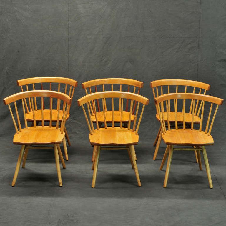 George Nakashima Knoll N19 Straight Chairs 3