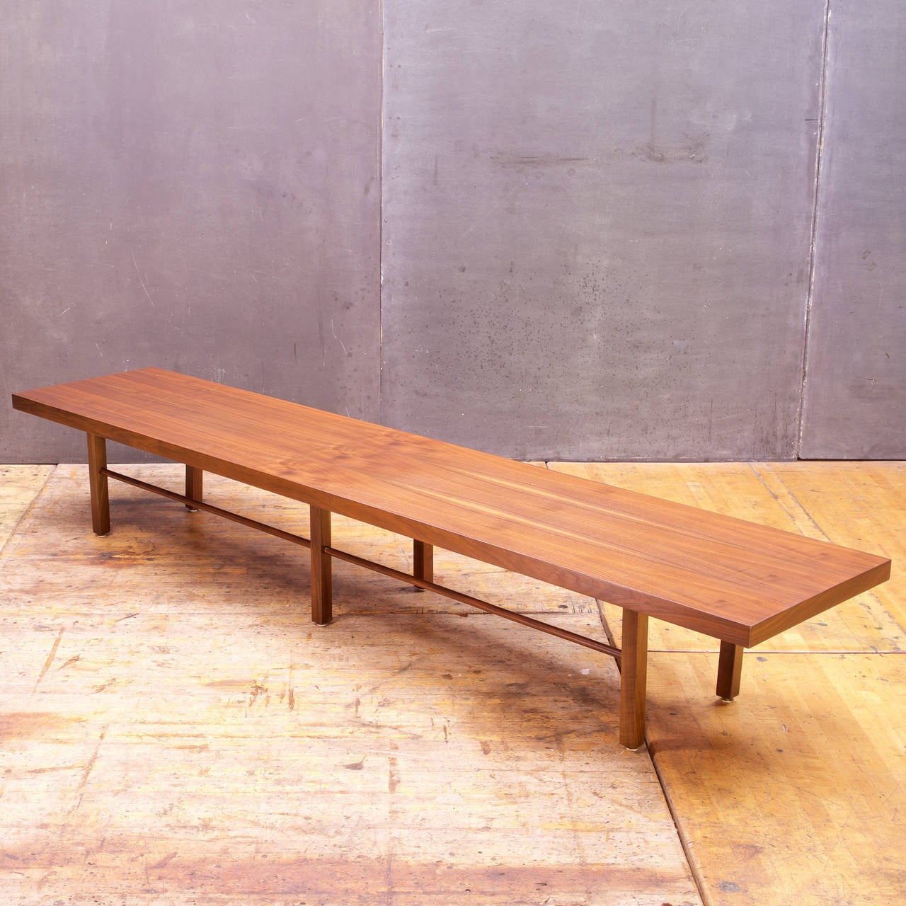 Very Long And Low Table / Shelf.