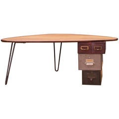 Modern50 Rudderbox Assemblage Hairpin Coffee Table
