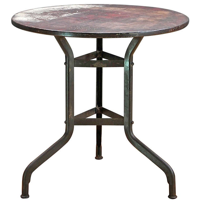 1910 39 S Industrial Toledo Metals Rare Factory Break Table