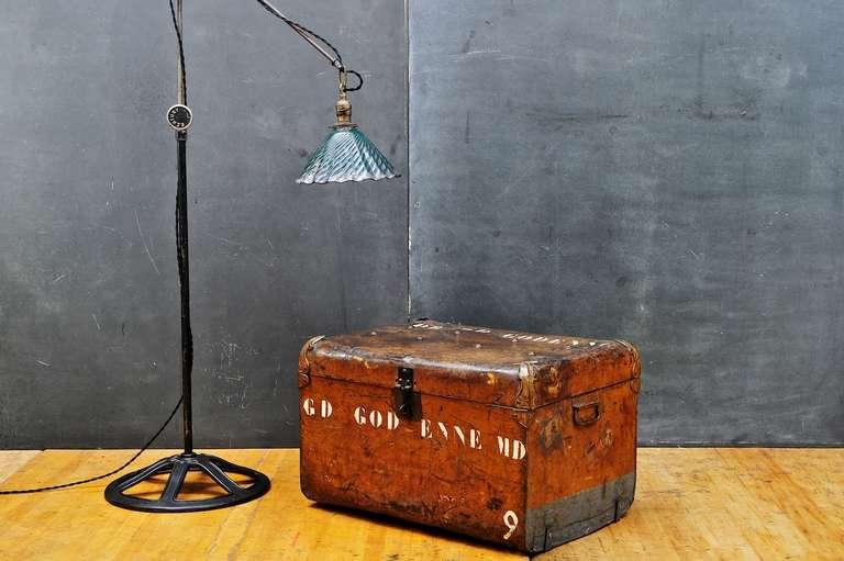 Vintage Industrial Steampunk Century Floor Lamp At 1stdibs