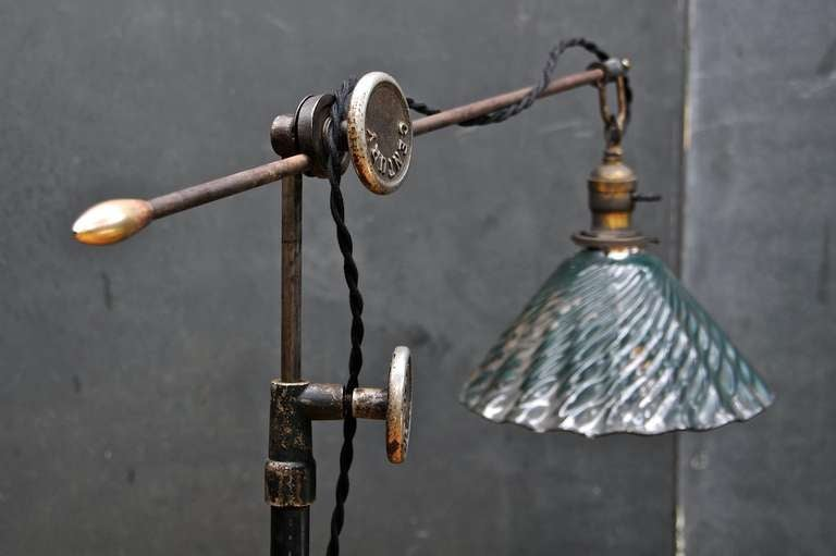 Vintage Industrial Steampunk Century Floor Lamp At 1stdibs