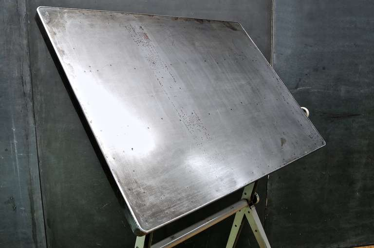 Mid-Century Dutch Modern Rietveld Steel Reply Drafting Table 3