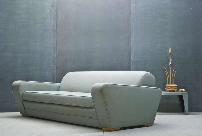 Art Deco 1930s Frankl Speed Sofa Deco Moderne Machine Age & Streamline