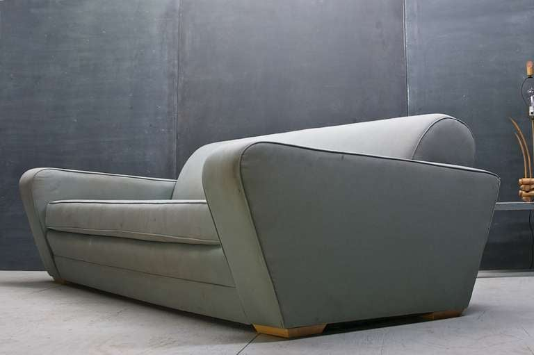 Mid-20th Century 1930s Frankl Speed Sofa Deco Moderne Machine Age & Streamline For Sale