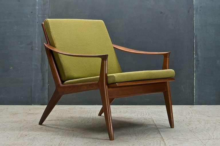 Awesome Scandinavian Modern Rare Per Oie Scandinavian Mid Century Modern Easy Arm  Lounge Chair For Sale
