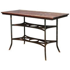 Rare Toledo Metals Company Mercantile Petite Work Table