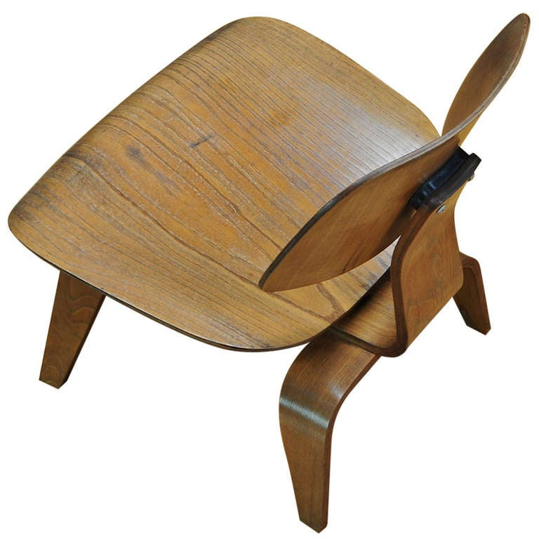 1947 Vintage Eames Evans Plywood Herman Miller Mid Century Lounge Chair For S