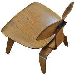1947 Eames Evans Plywood Herman Miller Lounge Chair