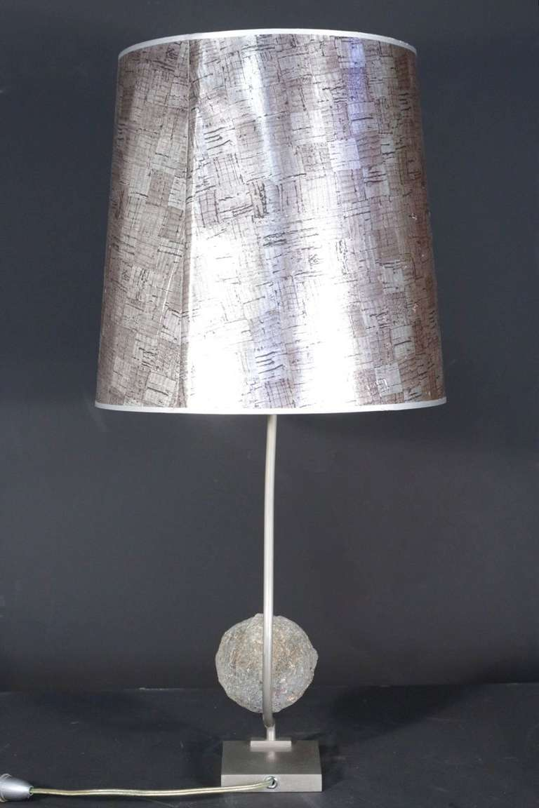 1970's Table Lamp by Willy Daro For Sale 1
