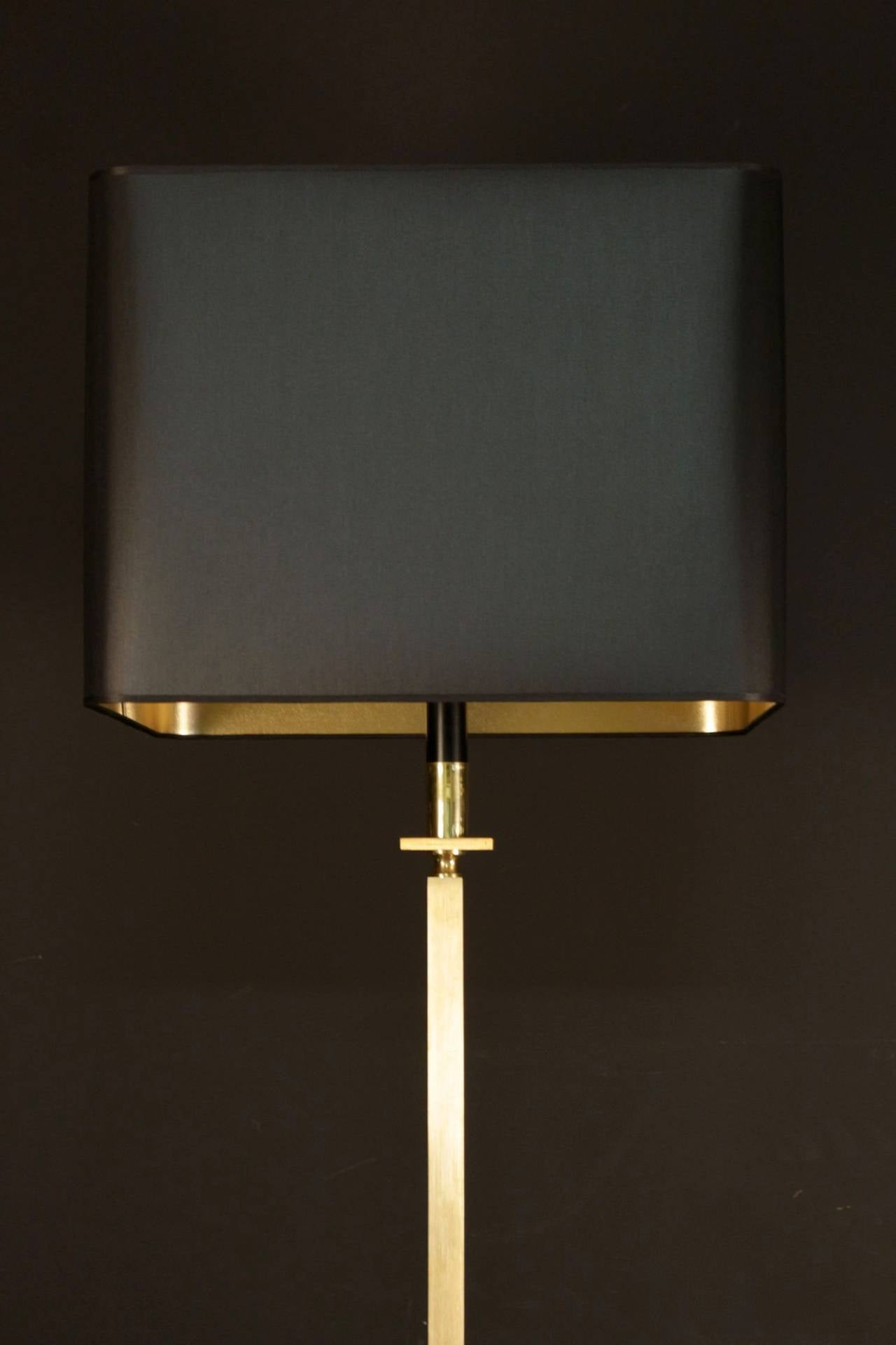 French 1960s Floor Lamp by Maison Jansen For Sale
