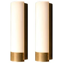 Pair of 1960s Sconces by Maison Lunel