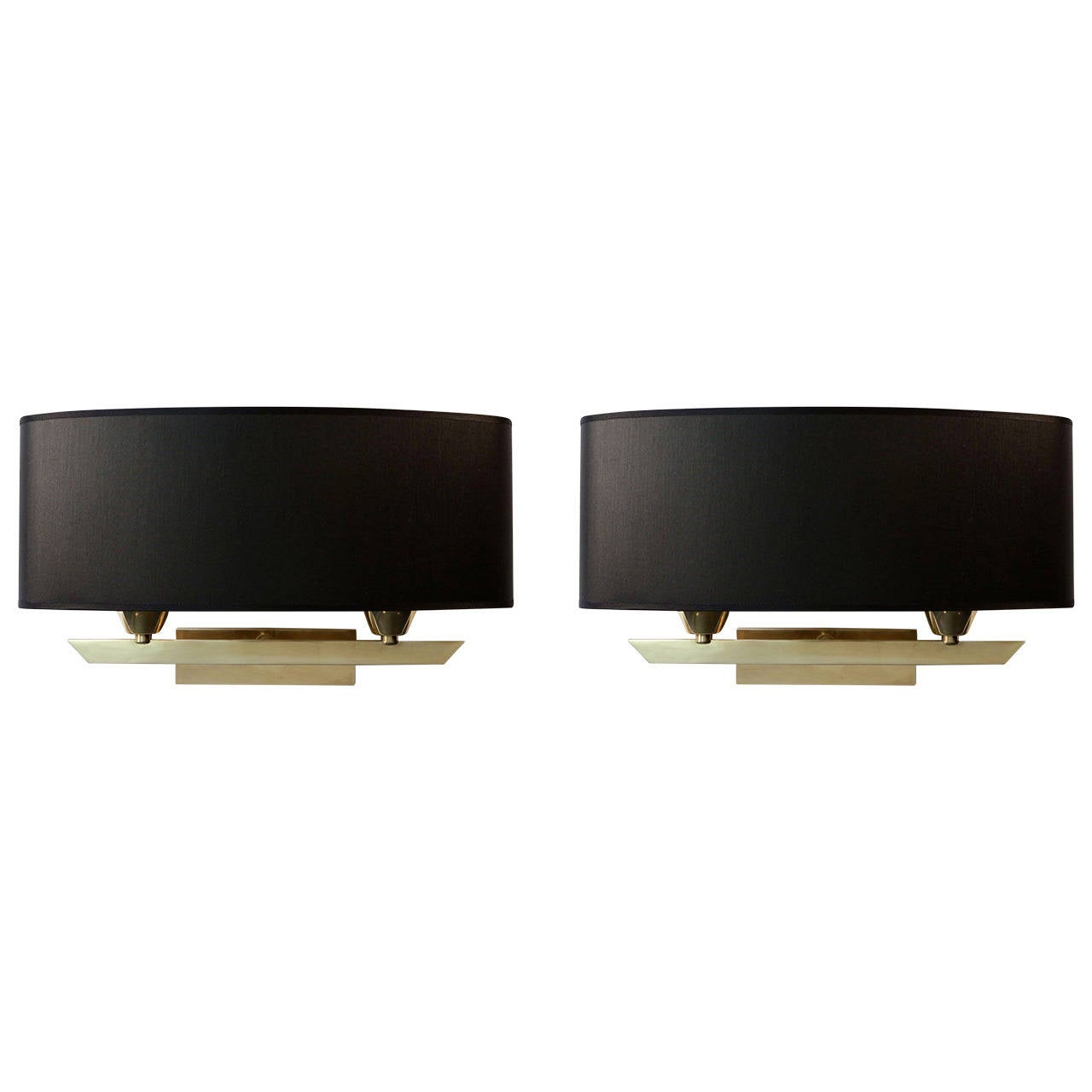 pair of 1950s directoire sconces by maison arlus 1950 for sale at 1stdibs. Black Bedroom Furniture Sets. Home Design Ideas