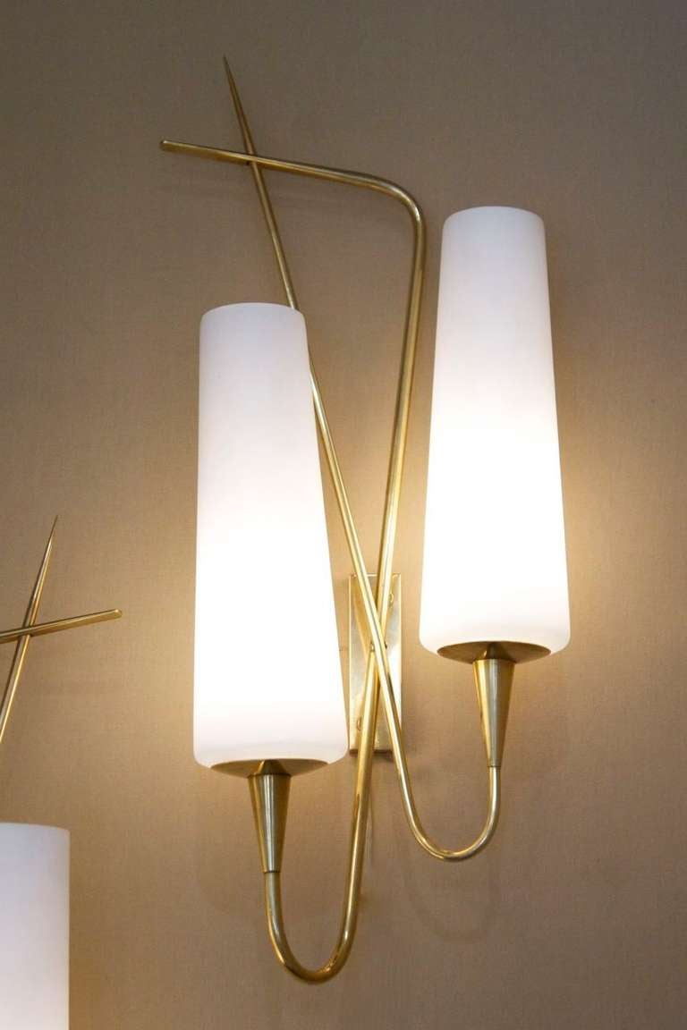 Pair of Asymmetrical Sconces by Arlus House 3